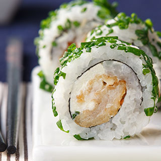 Roll Teriyaki Chicken
