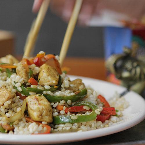 Chicken Curry + Alaska L