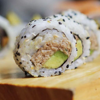 Roll Spicy Tuna c/palta